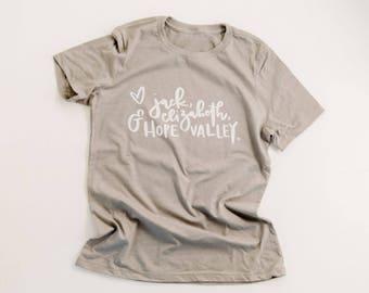 When Calls the Heart tee | Hallmark tee | hearties tee | Hallmark channel tee shirt