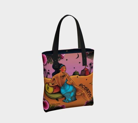 Scorpio - Tattoo Premium Tote Bag