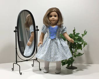 Handmade American Girl Doll Dress of the Forties Fashion Collection