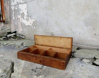 Antique Wooden Till Cashiers Desk - Ideal for Fairs, Markets etc.