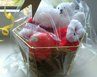 Baby's first Christmas gift basket