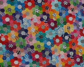 """RESTOCKED Leather 8""""x10"""" Abstract KALEIDOSCOPE Flowers (2"""") (Now on Cowhide) 2.5-2.75 oz / 1-1.1 mm PeggySueAlso™ E1095-03A"""