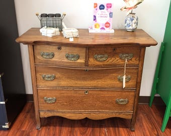 Four Drawer Bow Front