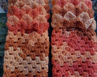 Dragon Scale Fingerless Gloves - Small