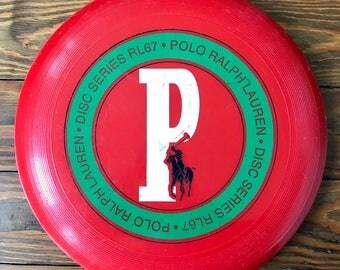 Vintage Polo Ralph Lauren Disc Series RL67 Frisbee