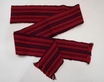 Ukrainian hand woven belt, krayka. #30