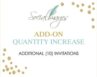 ADD ON - Increase Qty. 10