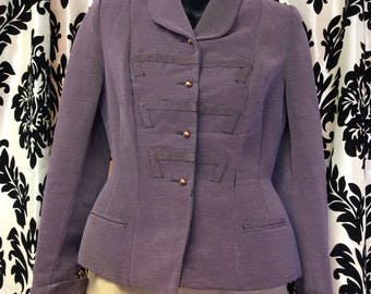 1940s Lovely in Lavender Blazer