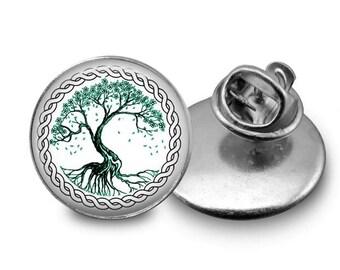 Tree of Life Pin/ Tree of Life/ Lapel Pin/ Brooch/ Tree Pin/ Celtic Pin/ Tree Jewelry/ Tree of Life Jewelry/ Nature Jewelry/ Boho Jewelry