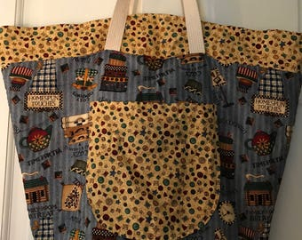 Vintage Handmade Country Shoulder Bag
