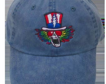 Psycle Sam Embroidered Ball Cap - Blue