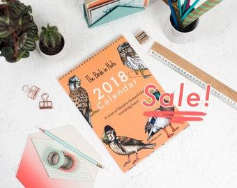 The 2018 Birds in Hats Wall Calendar