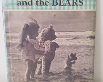 SALE! Holiday for Edith and the Bears Dare Wright photographs 1958 htf ADORABLE vintage children's book