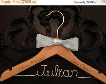 LOVE SALE Ring Bearer Hanger / Ring Bearer Gift / Wedding Hanger / Bridal Hanger / Kids Hanger / Personalized Hanger / Childrens Hanger / We