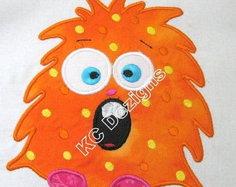 ON SALE Cute Monsters 01 Machine Applique Embroidery Design - 4x4, 5x7 & 6x8