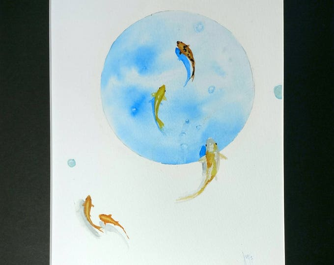 Featured listing image: Original Watercolor -Flow-