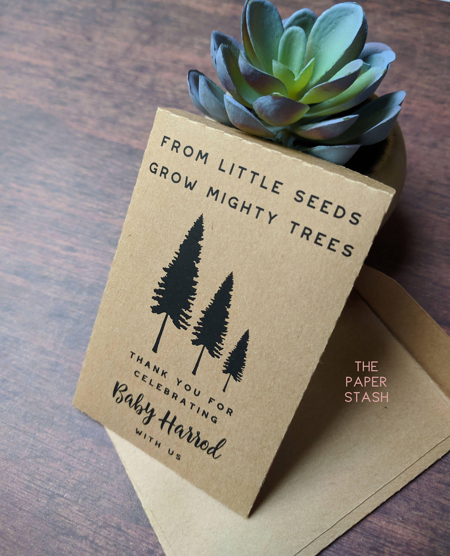 diy custom seed packets custom kraft personalized