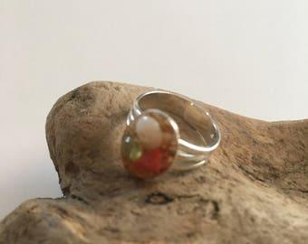 Seashell Jewelry ... Sweet Ocean Ring (1076)