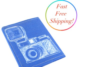 Vintage Camera Wallet, Travel Wallet, Minimalist Wallet, Credit Card Holder, Credit Card Wallet, Unique Wallet