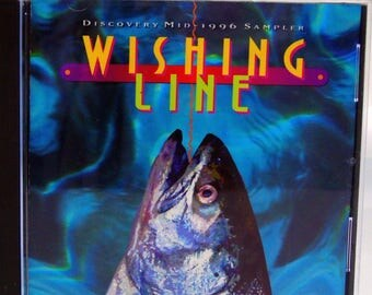 Wishing Line CD Promotional 1996 Sampler Rock Blues Jazz Disco Discovery Records