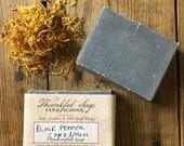 Black Pepper and Cardamom Soap