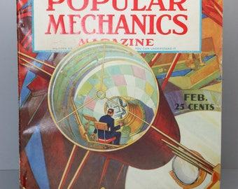 Popular Mechanics Magazine - Feb 1939