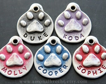 Custom Dog Tags for Dogs - Personalized Dog Tag - Dog Accessories - Dog Name Tag - Unique Dog Tags - Dog ID Tag - Girl Dog Tag