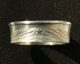 Ladies Coin Ring 1981 Soviet Union 20 Kopecks, Ring Size  and Double Sided