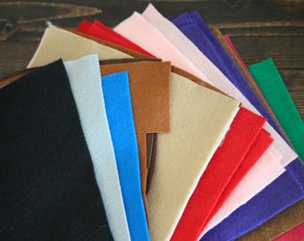 Assorted Felt Sheets