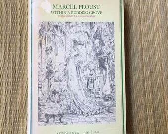 Marcel Proust Within A Budding Grove (1970, Paperback)