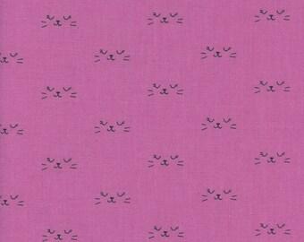 PRESALE - Lil' Monsters - Neko in Purple - Cotton + Steel - 5130-01 - 1/2 Yard