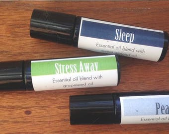 Wake Up Essential Oil Roller