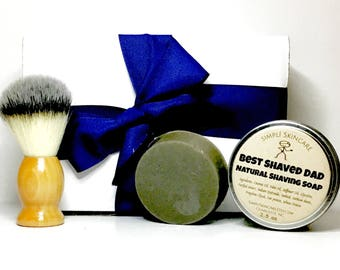 Mens Shaving Kit Shaving Soap Gift for Fathers Day Gift for Dad Gift for Groomsmen Gift Boyfriend Gift Shaving Set Shave Soap Shaving Brush
