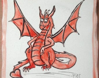 Red Valentine Dragon