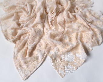 """25x25"""" VINTAGE lace - Layering Blanket - Newborn photography Props"""