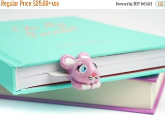 BACK TO SCHOOL 20% off // Funny Bunny bookmark // Cute bunny unusual gift for child // Back to school gift for student, teacher //
