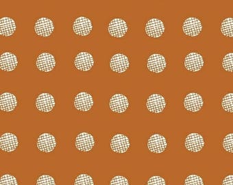 Lemmikki by Lotta Jansdotter for Windham Fabrics - 43086-1 - Mandarin - 1/2 Yard Cotton Quilt Fabric