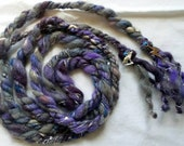 Storm Witch I Ritual Cord -magic, pagan devotion, altar or statue decoration, handfasting cord, fiber art accessory