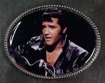 Handmade Belt Buckle Elvis Presley Movies