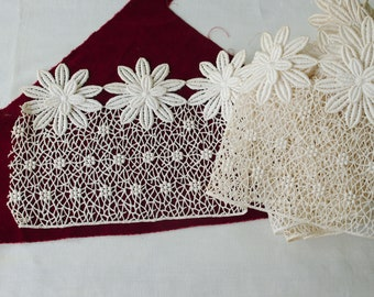 Vintage French Cotton Lace