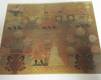 GigiR Designs Bethrothed Traditional Patterns Instructions / Chart Original Design