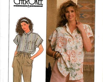 ON SALE Simplicity 9234 Misses Cherokee Pants, Shorts And Shirt Pattern, Size 4-10 & 12-18, UNCUT