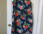 womens Hawaii Dress Plus size 2XL Made in Hawaii Hibiscus floral hawaiian FREE SHIPPING!!!