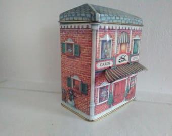 Christmas Tin Hallmark Cards and Gifts 85th Anniversary Tin Card Shop Hall Bro's Gifts