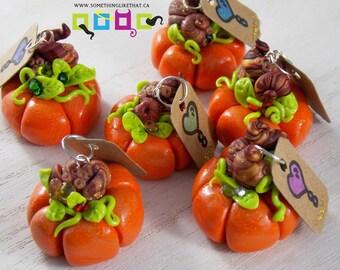 Cute Fall Pumpkin Charms -Customize Me!
