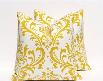 15% Off Sale Pillow Covers Yellow pillows Throw Pillow Cover - Throw pillows - Yellow Pillow Cover - Yellow Pillow - Decorative Pillow  - Cu