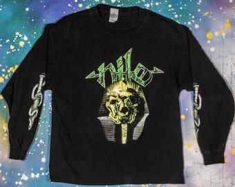 NILO Metal Longsleeve Rock Shirt Size XL