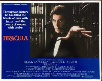 Lobby card from Frank Langella's Dracula.