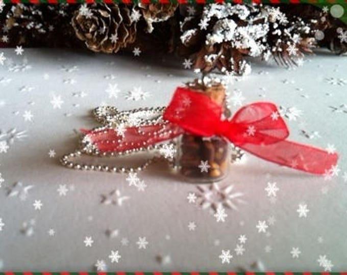 REF 99 cookies jar pendant necklace