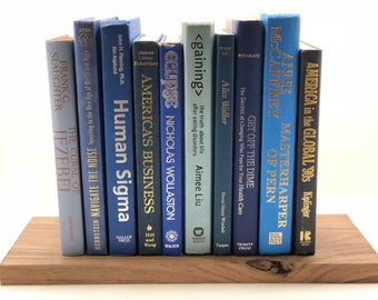 Beautiful Blues Books by the Foot